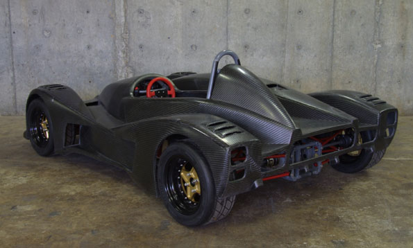 Ridiculous homemade track car