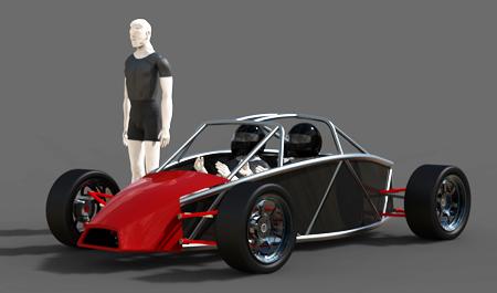 f1 car chassis design pdf