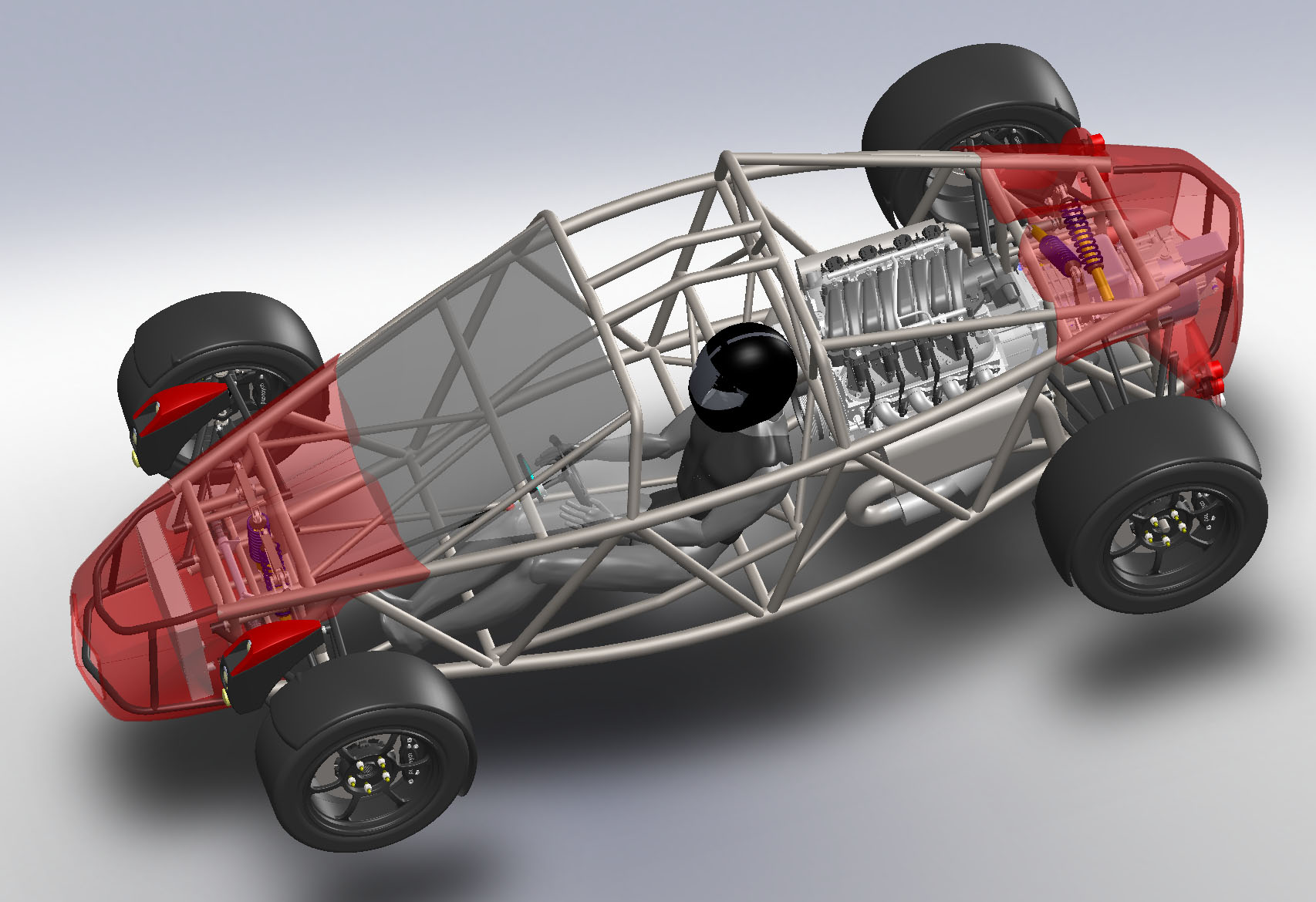 Design of car frame - That Was The Last Piece Of The Frame Puzzle And Now We Can Get On With Making Those